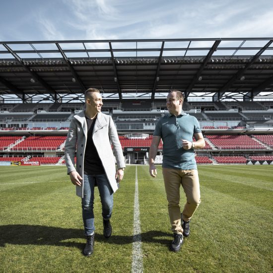 Lifestyle Photo shoot Duo Audi Field 1
